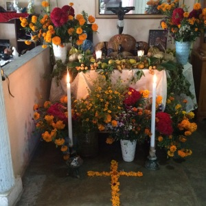 The family ofrenda.